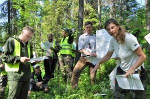 """Field Workshop """"New approaches to sustainable intensive forest management and their practical implementation"""", June 24-28, 2018, Russia"""